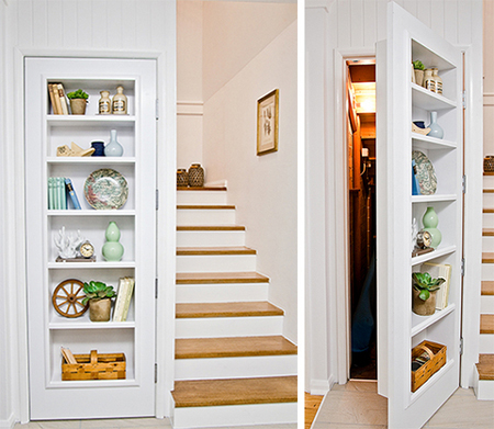 Home Dzine Home Diy Fit A Shelf Unit Inside A Door