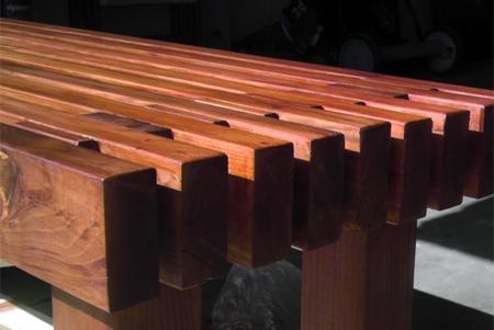 Home Dzine Home Diy Make A Classic Slat Garden Bench