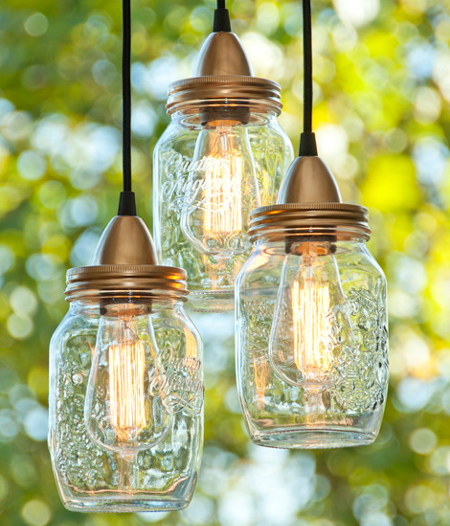 Home Dzine Home Decor Make Mason Jar Outdoor Lamps