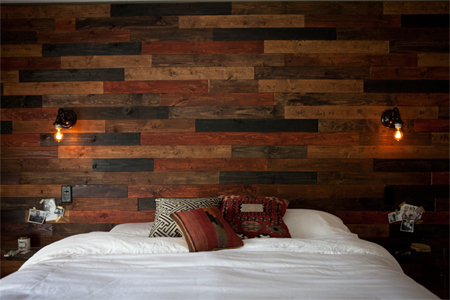 HOME DZINE Home Decor Wood panelling for walls