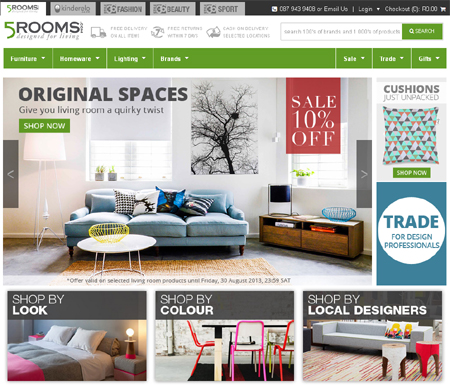 online shopping 5 rooms
