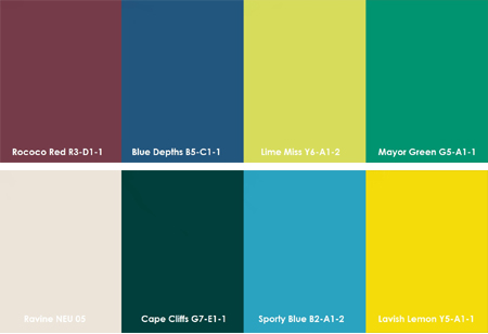 Home Dzine Plascon 2014 Colour Palette