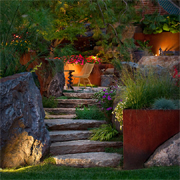 Add lighting to your outdoor spaces