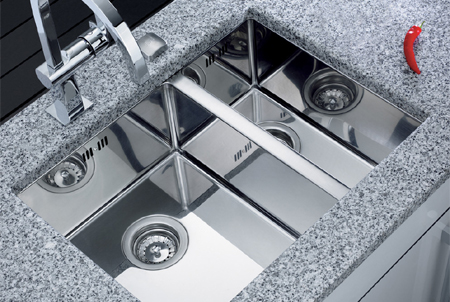 Stainless Steel Sink Square Bowl Undermount