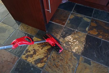 Home Dzine Home Diy Strip Stone Tile Floors