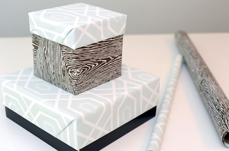 How To Cover Up A Plain Box With Leftover Wrapping Paper