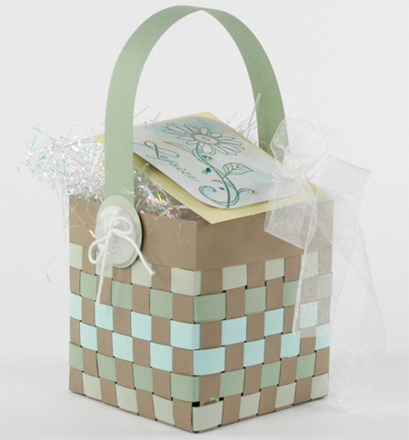 Home Dzine Craft Ideas How To Weave A Paper Basket