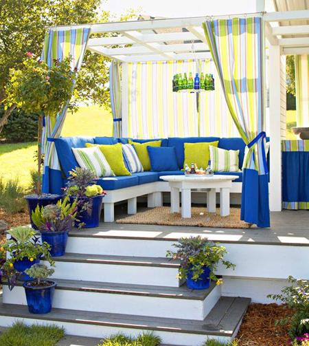 Home Dzine Garden Transform A Deck Or Patio For Entertaining