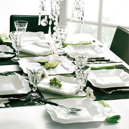 Decorate The Christmas Dining Table Decor For Green White