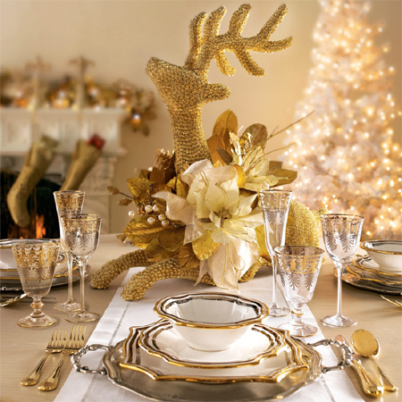 decorate the christmas dining table decor for christmas table modern elegance elegant gold setting