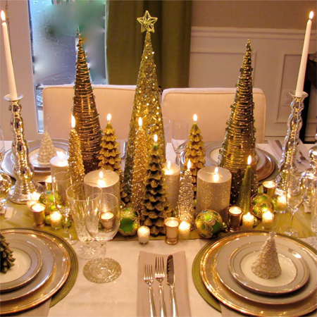 Fantastic Home Dzine Home Decor Decorate The Christmas Dining Table Download Free Architecture Designs Grimeyleaguecom