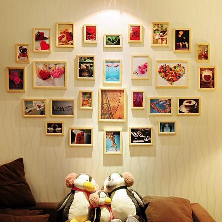 HOME DZINE Home Decor Create a photo gallery wall