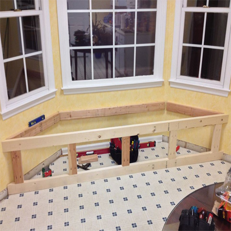 How to make a storage window seat