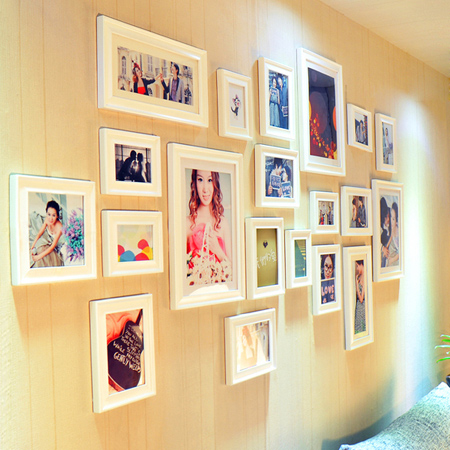 HOME DZINE Home Decor | Create a photo gallery wall
