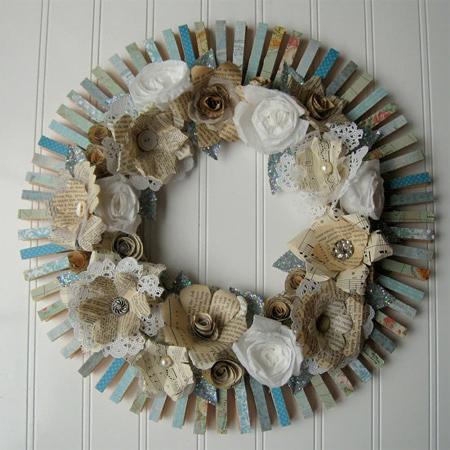 Stick Wreath Ideas