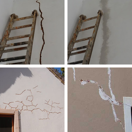 exterior home repair patching cracks