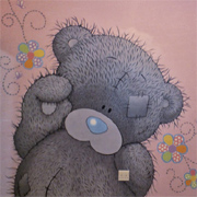 Paint a tatty teddy mural