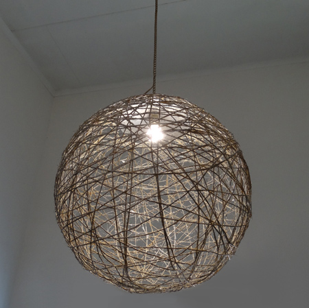 How Do I Make A Light Shade Out Of String Glue And A Balloon 42