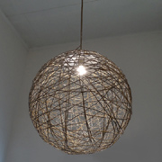 Extra large string lampshade