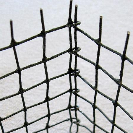 HOME DZINE Craft Ideas | How to make wire mesh baskets