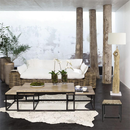 home dzine home decor decorate a home in modern rustic style. Black Bedroom Furniture Sets. Home Design Ideas