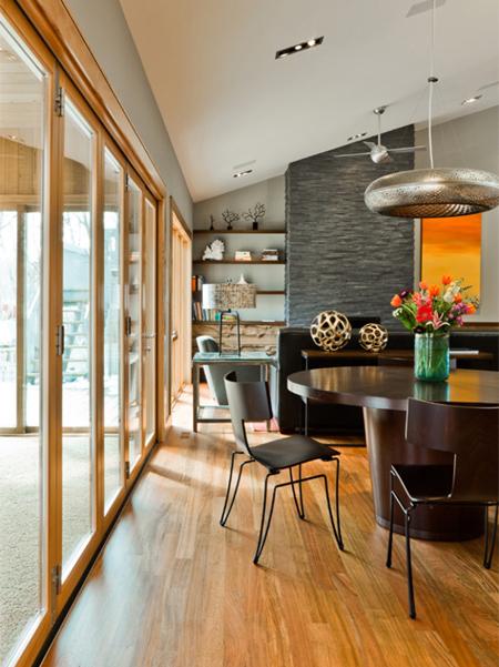 HOME DZINE Home Decor | 70s home becomes a modern showpiece