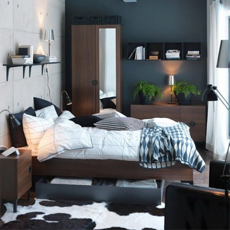 HOME DZINE Bedrooms | Storage ideas for a small main or master bedroom