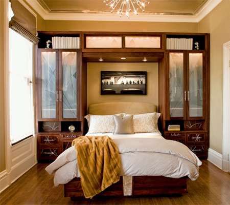 ideas for small bedroom storage home dzine bedrooms storage ideas for a small or 18923