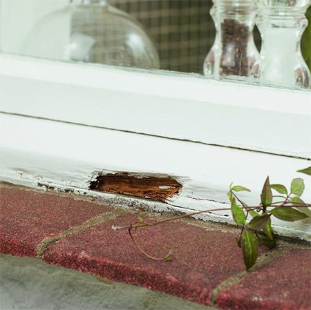 HOME DZINE Home DIY | Repair a rotten wood windowsill