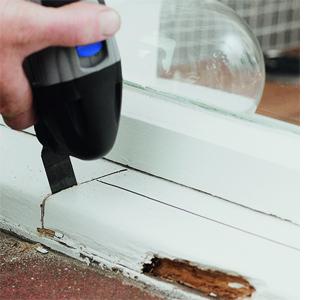 Repair A Rotten Wood Windowsill Dremel Multi Max