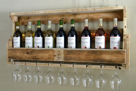 how to make a wine rack out of pallets 2