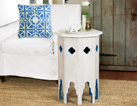 Make a Moroccan side table