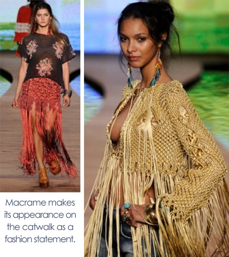 macrame fashion clothing