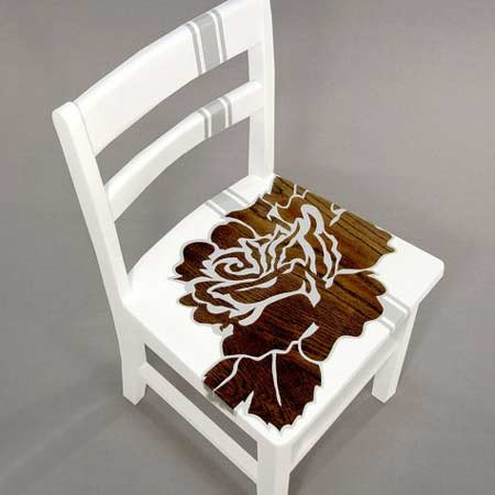 upcycle furniture with vinyl contact paper