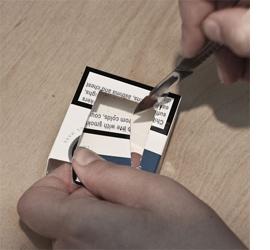 Home Dzine Craft Ideas Repurpose Cigarette Boxes Into A Parking Garage