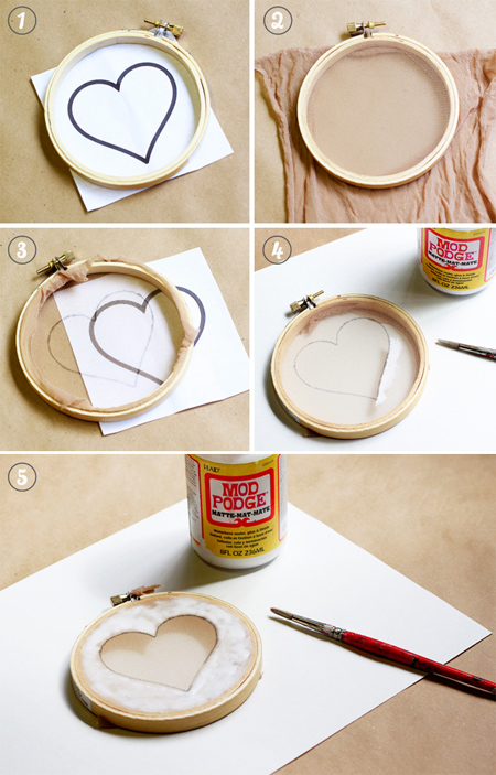 HOME DZINE Craft Ideas | Easy screen printing with