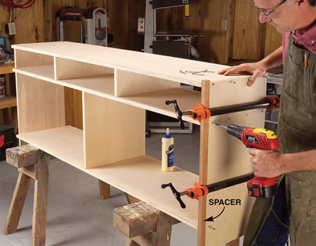 How To Build A Sideboard With Drawers