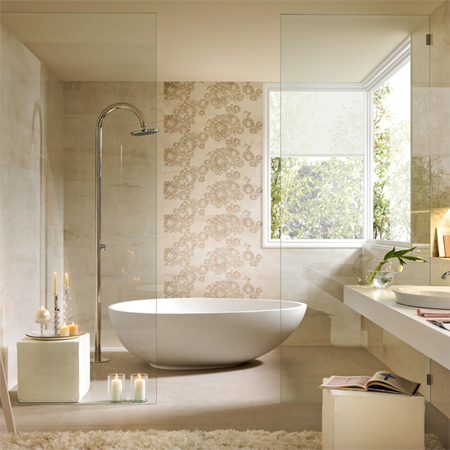 HOME DZINE Home Improvement Luxury bathroom tile options