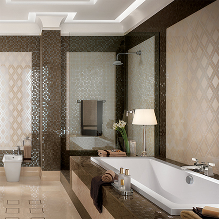 tile is the obvious choice for modern and contemporary home designs