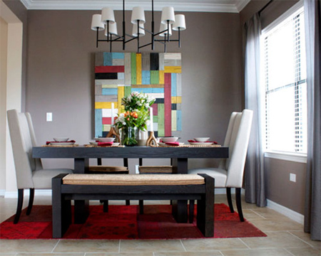 Nice Dining Room Makeover After