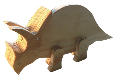 Home Dzine Craft Ideas Make Wooden Moveable Dinosaurs