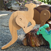 How to make wooden hopping toys