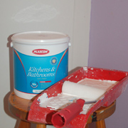 Change to water-based enamel paints