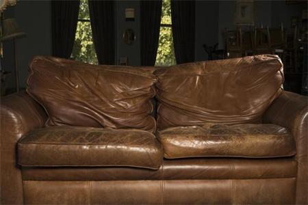 Fix Flat Cushions On A Leather Sofa