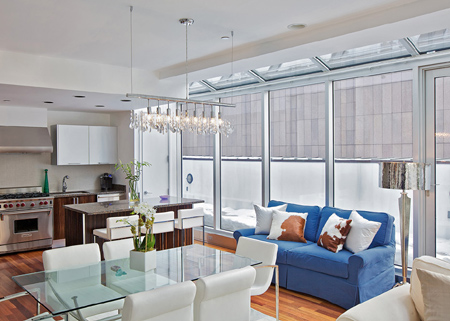 Delightful Marie Burgos Design Offers Insight Into How A Studio Apartment Or Open Plan  Living Space Can Be Beautifully Decorated And Defined. Gallery