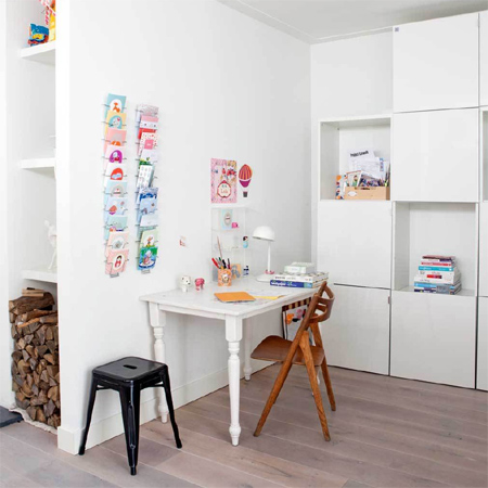 DIY modern furniture for home office scandi scandinavian style table