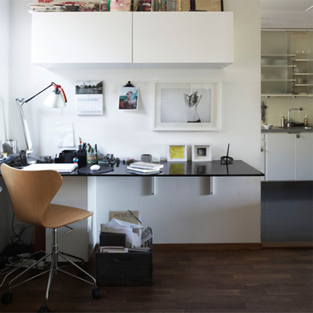 DIY modern furniture for home office scandi scandinavian style countertop