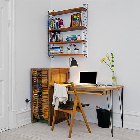 DIY modern furniture for home office scandi scandinavian style reclaimed