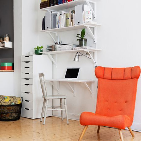 DIY modern furniture for home office scandi scandinavian style shelf