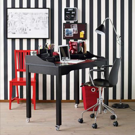 DIY modern furniture for home office scandi scandinavian style on wheels